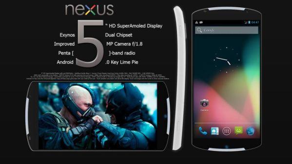 5 главных отличий Google Nexus 5 от Nexus 4