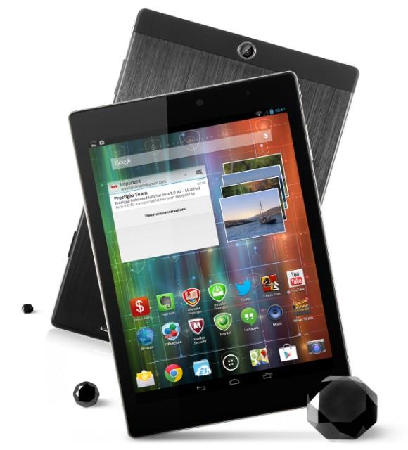 Prestigio представила планшеты MultiPad 4 Diamond с «алмазной» окантовкой