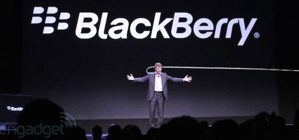 Глава BlackBerry освобожден от занимаемой должности