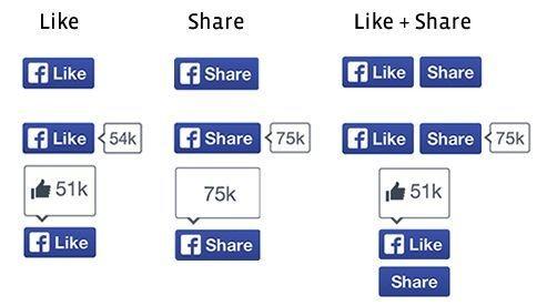 Facebook представила новую кнопку Like