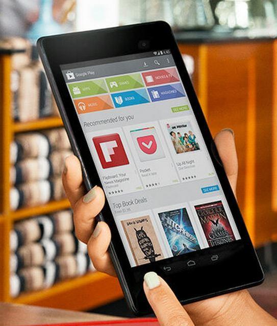 Google подправил фото с Nexus 8