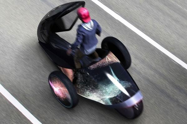 Toyota представила футуристический концепт-кар FV2