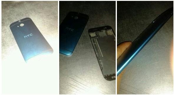 Первые фотографии нового флагмана HTC