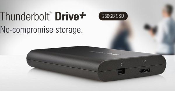 Внешний SSD-драйв Elgato Thunderbolt Drive+ порадует своей скоростью