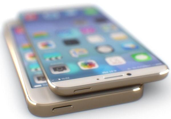 Концепт iPhone Air без кнопки HOME и сканера отпечатков