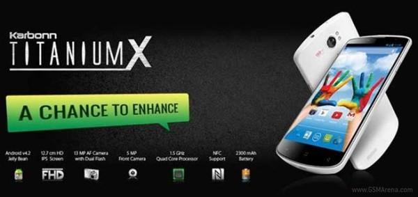 Karbonn представил смартфон Titanium X