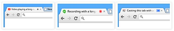 Google Chrome укажет на звучащую вкладку