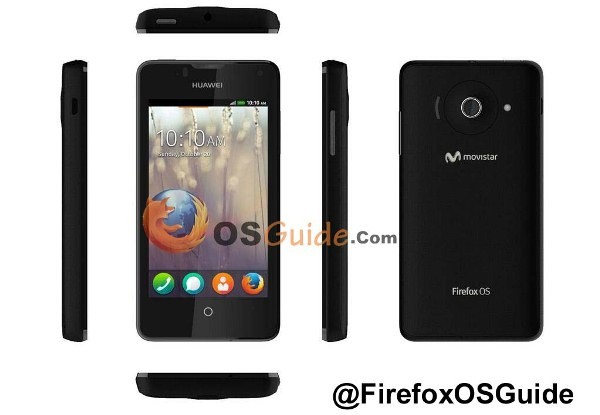 Смартфон Huawei Ascend Y300II получил систему Firefox OS 1.2