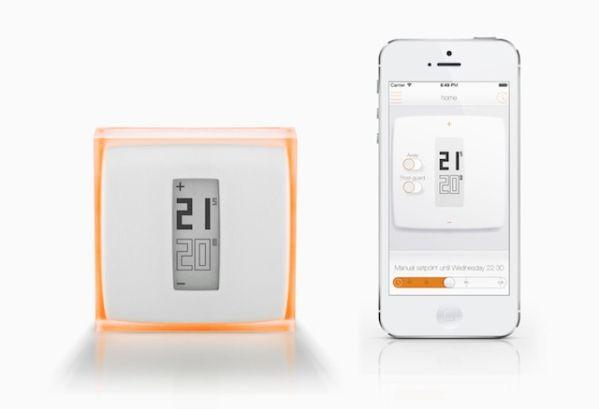 Термостат Netatmo Wireless управляется при помощи смартфона