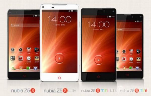 Анонсированы коммуникаторы ZTE Nubia Z5S и Z5S mini