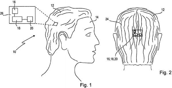Sony патентует «умный парик»