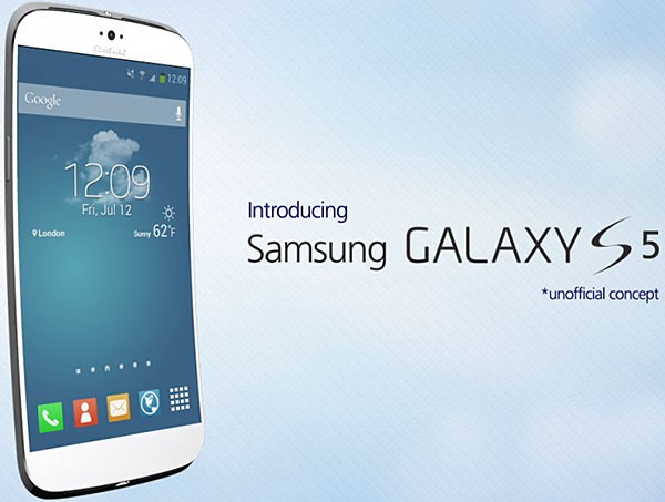 Концепт изогнутого смартфона Samsung Galaxy S5