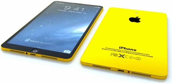 Красивый и правдоподобный концепт планшетофона Apple iPhone 6
