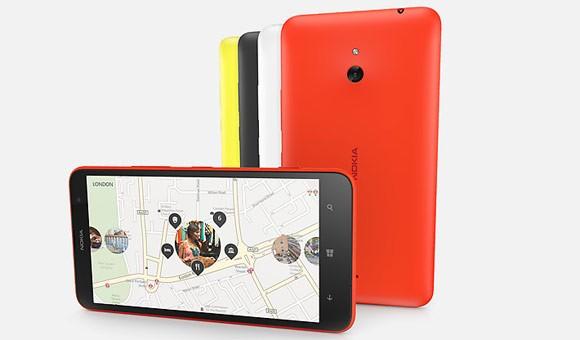 Nokia запустила рекламу смартфона Lumia 1320