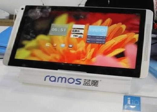 Планшет Ramos i10 Pro с двумя ОС готовится к показу на CES 2014