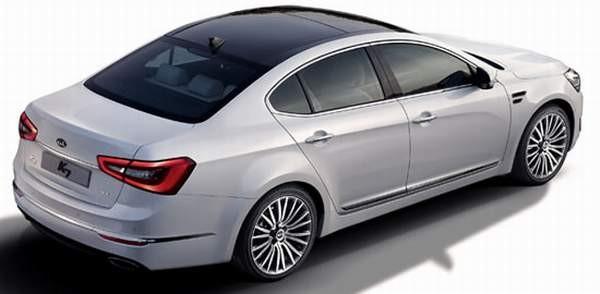 Kia выпустит гибридную версию люксового седана  K7