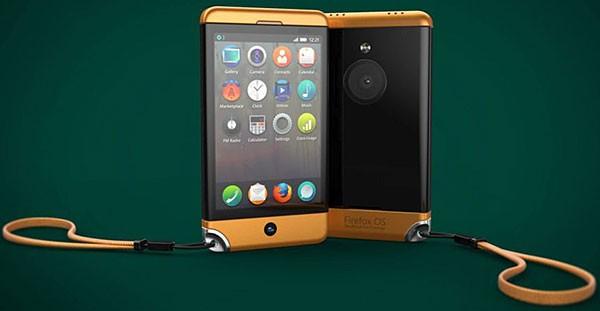 Очень красивый концепт Firefox Phone