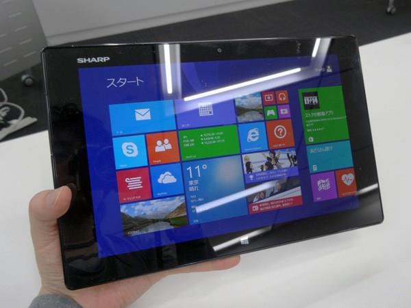 Sharp анонсировала профессиональный планшет Mebius Pad