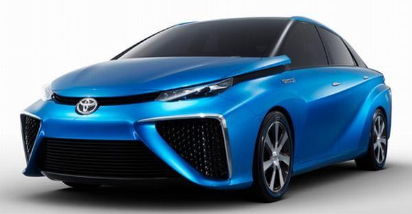 Toyota покажет свой автомобиль на водородном топливе на CES 2014