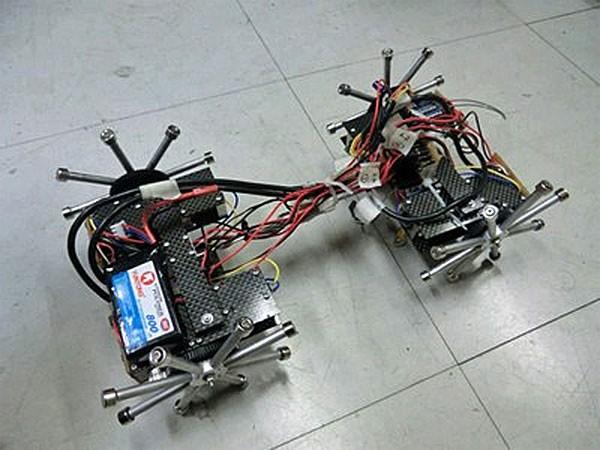 В Японии создан робот для обследования мостов