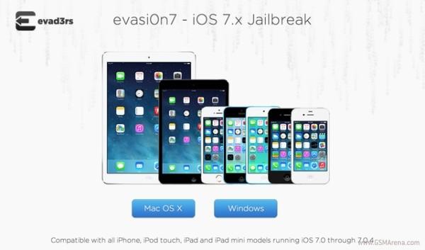 Вышел первый непривязанный джейлбрейк для iOS 7