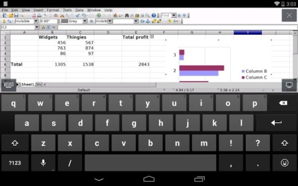 AndrOpen Office заменит Microsoft Office на Android