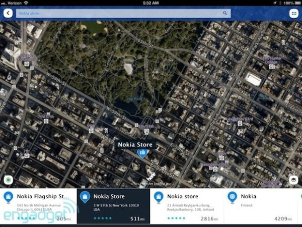 Nokia прекращает поддержку HERE Maps для iOS