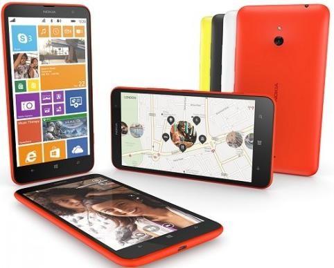 Стартовали продажи планшетофона Nokia Lumia 1320