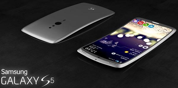Концепт Samsung Galaxy S5 с изогнутым 2K-дисплеем