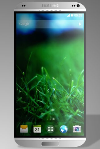 Правдоподобный концепт Samsung Galaxy S5