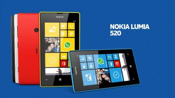 30% всех Windows Phone-смартфонов – это Nokia Lumia 520