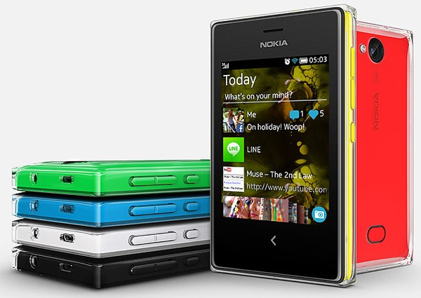 Телефон Nokia Asha 503 вышел в России