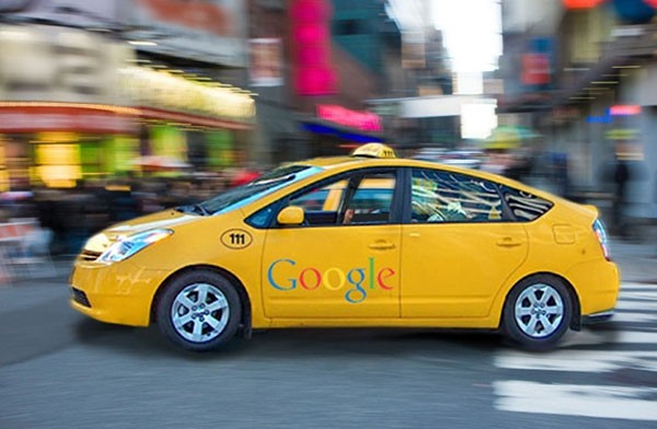 Google оплатит поездку на такси за рекламу