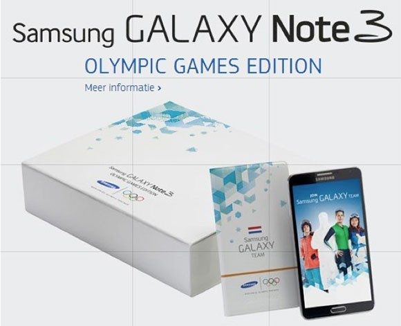 Samsung представила Galaxy Note 3 Olympic Edition