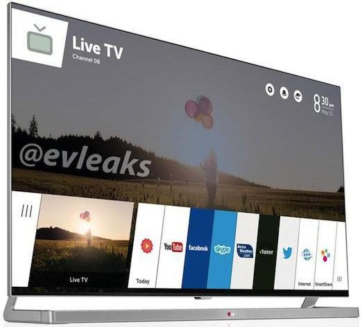 Интерфейс телевизора LG под webOS