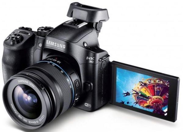 CES 2014: представлена профессиональная беззеркалка Samsung NX30