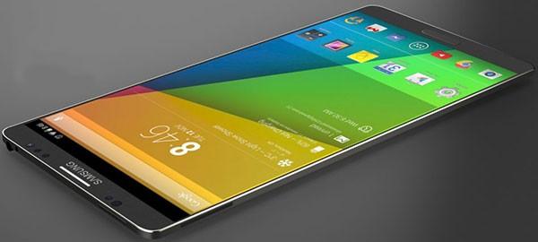 Простой и тонкий концепт Samsung Galaxy S5
