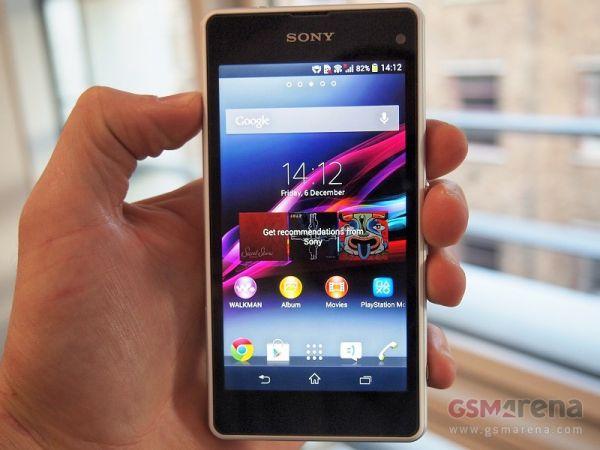 CES 2014: Sony выпустила смартфон Xperia Z1 compact