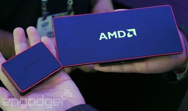 CES 2014: представлен мини-компьютер AMD Nano PC