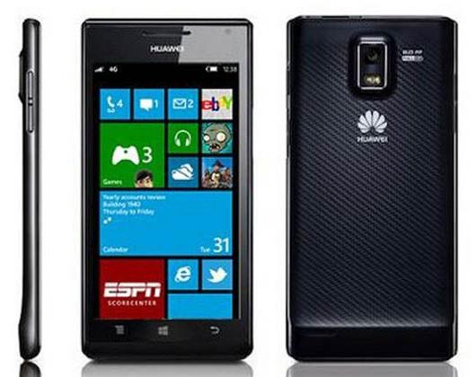 Huawei готовит к премьере смартфон Ascend W3 на базе Windows Phone 8