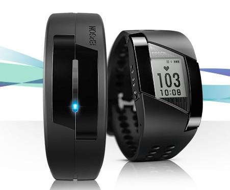 CES 2014: фитнес-браслет и часы от Epson