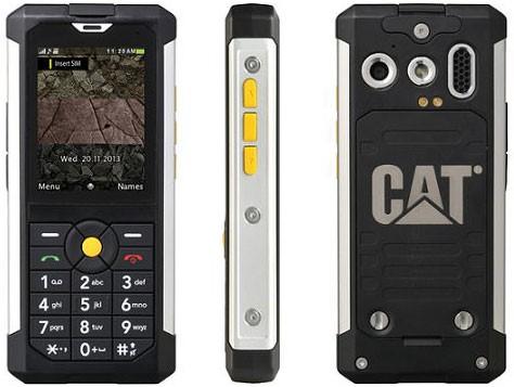 CES 2014: представлен защищенный телефон Caterpillar Cat B100