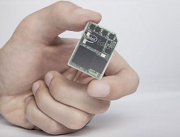 CES 2014: анонсирован компьютер Intel Edison размером с карту памяти