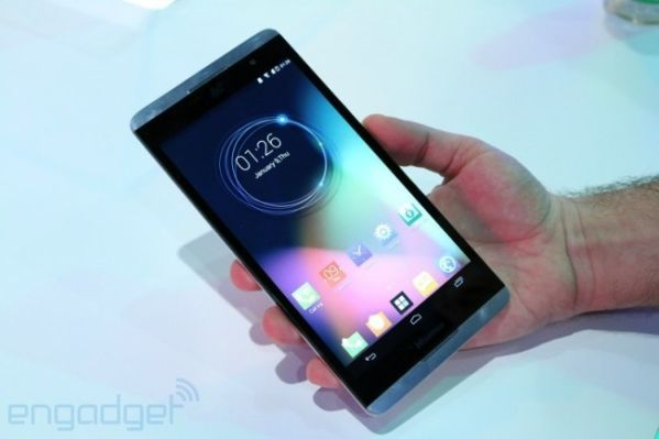 CES 2014: по-настоящему гигантский смартфон Hisense X1