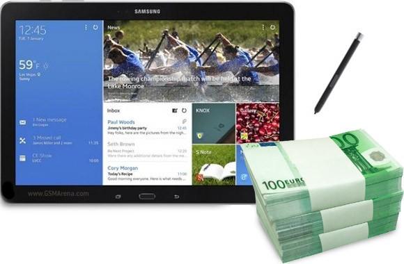 Стоимость планшетов Samsung Galaxy Pro превысила ожидания