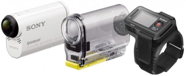 CES 2014: экшн-камера Sony Action Cam HDR-AS100V