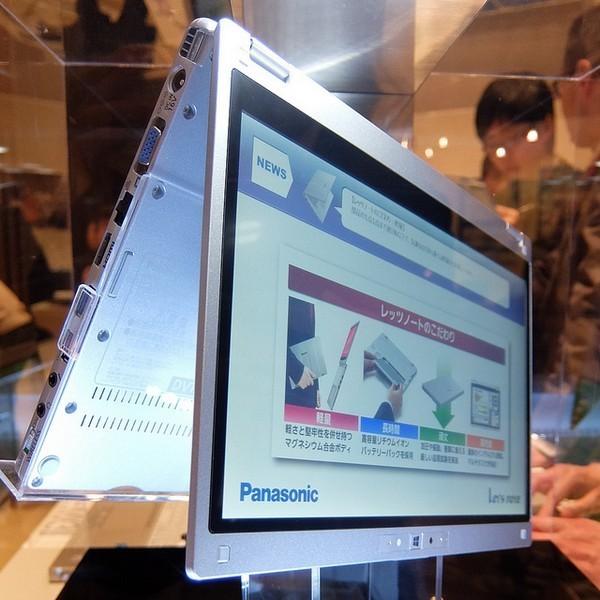 Представлен гибридный ноутбук Panasonic CF-MX3 с оптическим приводом