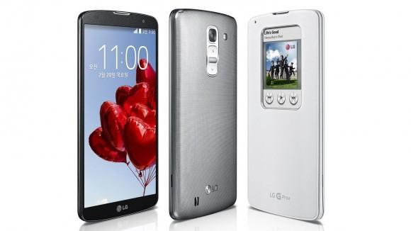 LG представила 5,9-дюймовый планшетофон G Pro 2, отзывающийся на стук