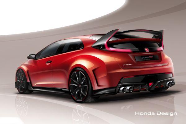 Honda показала концепт Civic Type R