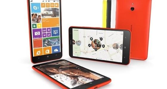 Nokia Lumia 1320 поступил в продажу в России